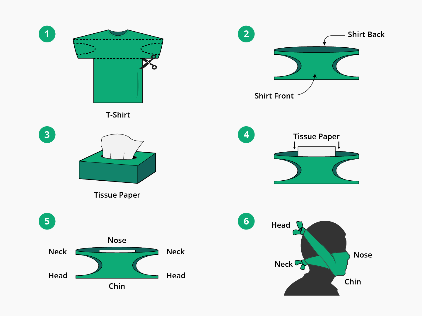 how to make a mask from a t-shirt